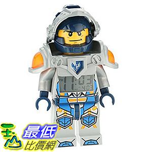 [美國直購] LEGO 9009419 Clay 克雷·穆林頓 人偶鬧鐘 Kids Ninjago Nexo Kights Mini-Figure Alarm Clock 未來騎士團