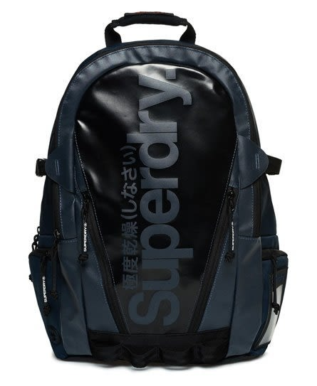 美國代購 現貨 Superdry 極度乾燥 Mono Tarp Backpack 海軍藍 後背包