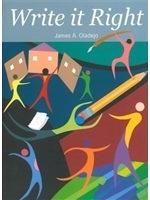 二手書《Write it right : a comprehensive guide to formal writing for intermediate EFL students》 R2Y 9861470638