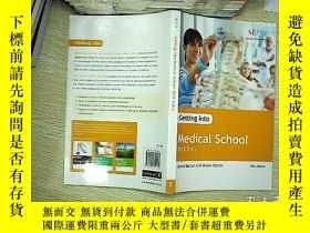二手書博民逛書店Getting罕見into medical school 201