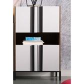 【森可家居】馬德里高櫃8JX450 3 展示邊櫃廚房櫃碗盤收納