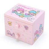 SANRIO 桌上型雙層櫃 小抽屜置物盒 雙星仙子_842711N