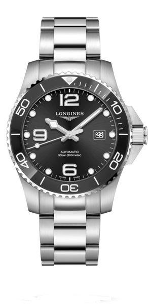 LONGINES 浪琴 深海征服者浪鬼陶瓷潛水機械錶L37824566黑43mm浪鬼