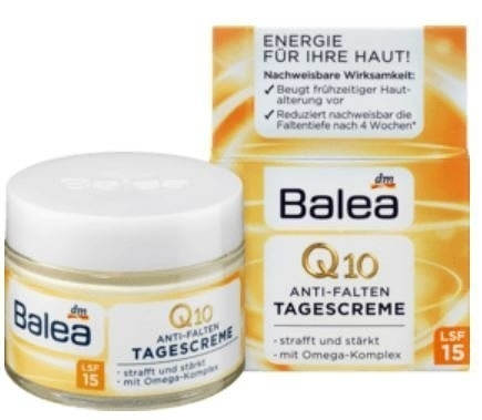 ●魅力十足● 德國 Balea Q10完美緊緻活膚日霜 50ml