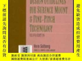 二手書博民逛書店Design罕見Guidelines For Surface Mount And Fine-pitch Techn