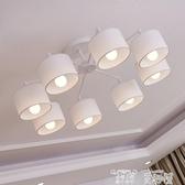 秒殺價創意吊燈北歐後現代簡約風格臥室吊燈大氣美式圓形led餐廳燈具創意客廳燈交換禮物