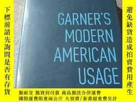 二手書博民逛書店GARNER S罕見MODERN AMERICAN USAGE(