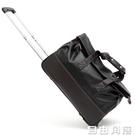 手提旅行包登機拉桿包女男商務大容量出差旅行袋托運行李包旅游包 自由角落