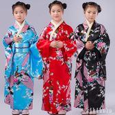 兒童和服 女日本傳統復古萬圣節學生合唱演出舞蹈表演日式服裝 DR2021 【KIKIKOKO】