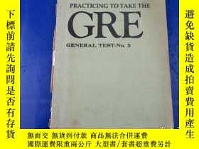 二手書博民逛書店Practicing罕見to Take the GRE General Test-No.5Y23809