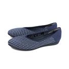 inooknit 平底鞋 休閒鞋 深藍/幾何 編織 女鞋 IK-AI4FW0120-555 no013