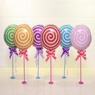 棒棒糖 鋁箔氣球 18吋 空飄氣球 鋁箔...