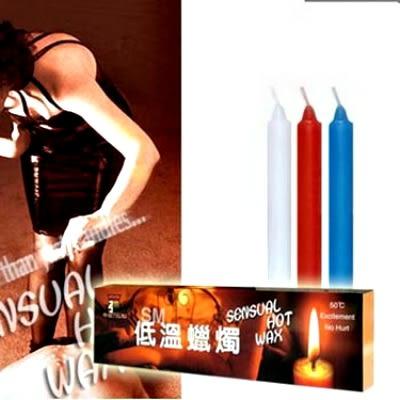 帝臣*高級低溫蠟燭(三支裝細長型)SEXYBABY 性感寶貝貨號:508367