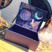 禮物盒空盒高檔禮物空盒子生日包裝禮盒包裝盒【櫻田川島】