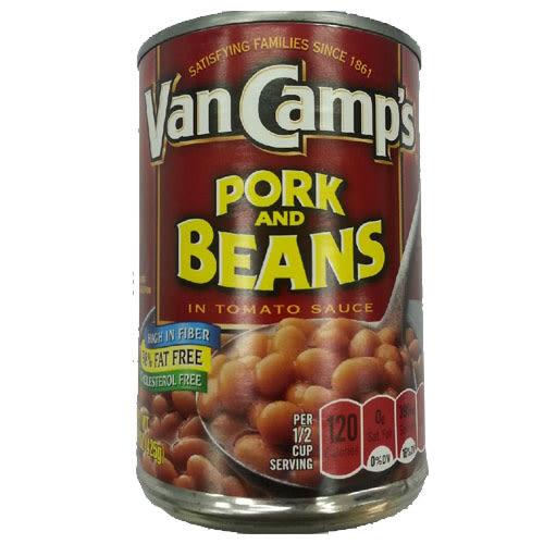 VAN CAMP S豬肉豆15Oz【愛買】