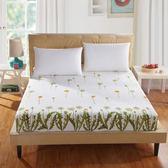 加厚上鋪床罩學生通用被子床裙床包雙人床罩紅色床墊圓床加大被套   初見居家