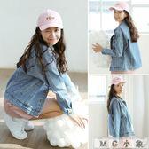 牛仔外套-韓版寬鬆怪味少女夾克牛仔衣