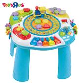 玩具反斗城【 BRU】字母與鋼琴學習桌