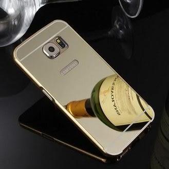 【清倉】三星 S6 Ed0ge Plus G9280 電鍍金框帶鏡面背板 Samsung S6 Edge+ 手機金屬保護套 手機殼