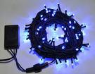 LED 100燈樹燈/串燈(藍光)附控制器