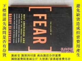 二手書博民逛書店THE罕見CULTURE OF FEAR:Why America