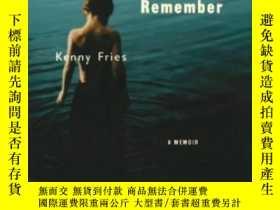 二手書博民逛書店Body,罕見Remember: A Memoir (livin