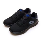 LIKA夢 LOTTO 時尚輕量緩震跑鞋 DINAMIC 300 系列 黑藍 1150 男