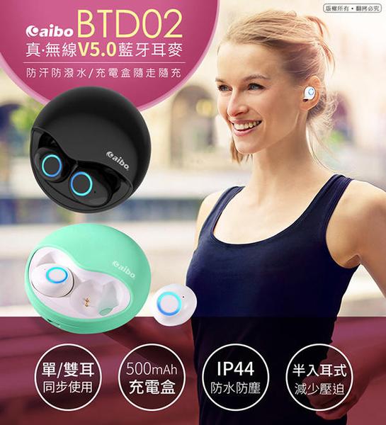 【妃凡】 BTD02 真無線雙耳 藍牙V5.0耳機麥克風(充電收納盒) (LY-MIC-BTD02) (A)
