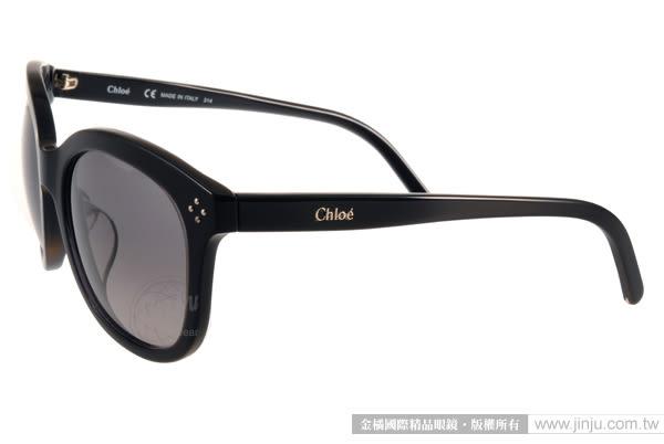 Chloe 太陽眼鏡 CL669SA 003 (黑) 時尚魅力名媛款 # 金橘眼鏡