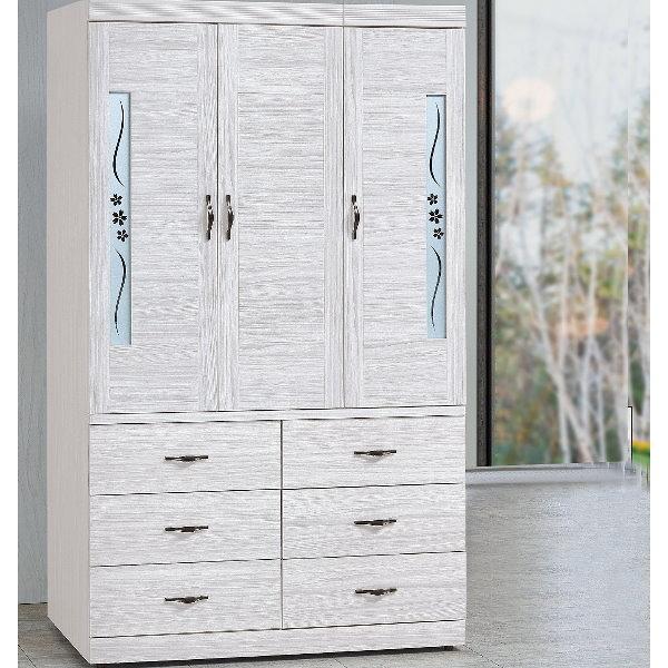 衣櫃 衣櫥 PK-539-5 密卡登4X7尺衣櫥【大眾家居舘】