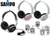 平廣 聲寶 SAMPO EK-Y951MH EK-Y951 MH 白色 耳機 同ELECOM EHP-CL430 台灣製