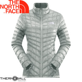 【The North Face 女 ThermoBall 暖魔球 保暖外套 灰白】 CUD5/暖魔球外套★滿額送
