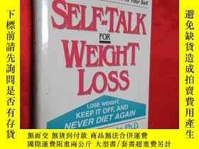二手書博民逛書店Self-Talk罕見for Weight Loss (硬精裝)