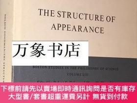 二手書博民逛書店Nelson罕見Goodman 古德曼 : The Structure of Appearance 1977年 修