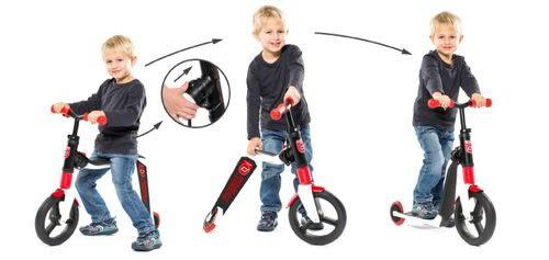 奧地利Scoot & Ride 滑步滑板平衡車 Highwayfreak升級款-寶石紅(3Y+)[衛立兒生活館]