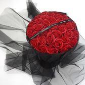 生日禮物女生情人節閨蜜送女友浪漫七夕節創意肥皂花香皂玫瑰花束  無糖工作室