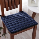 純色毛絨餐桌椅墊防滑椅子辦公墊學生凳子墊四季通用防滑坐墊