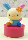 【震撼精品百貨】U-Sa-Ha-Na_花小兔~三麗鷗花兔子造型滾輪印章-坐*03377