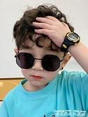 墨鏡兒童太陽鏡墨鏡男童時尚寶寶眼鏡防紫外線女童小孩個性網紅男孩 迷你屋 新品