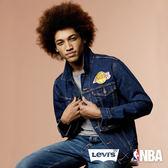 LEVI'S X NBA 經典丹寧夾克 / 洛杉磯湖人 - Levis