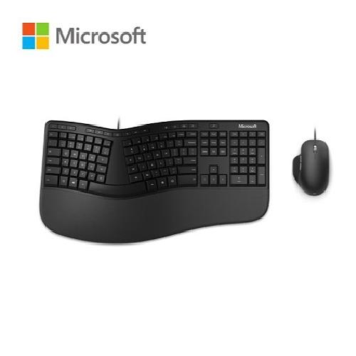 Microsoft 微軟 Ergonomic Desktop 人體工學 有線 鍵鼠組 鍵盤滑鼠組 RJU-00017