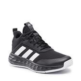 Adidas Ownthegame 2 女款 大童 黑色 高筒 透氣 運動 籃球鞋 H01558【KAORACER】