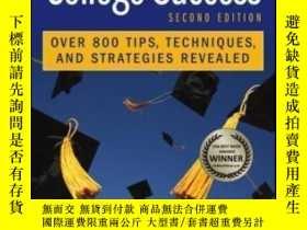 二手書博民逛書店The罕見Secrets Of College Success-大學成功的秘訣Y436638 Lynn F.