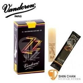 【2號半中音薩克斯風竹片】【Vandoren ZZ SR4125】  【黑盒/10片/盒】【Alto Sax】【型號:SR4125】
