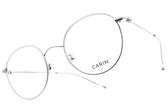 CARIN 光學眼鏡 LIM MORE C4 (銀-透明) 韓星秀智代言 簡約知性圓框款 # 金橘眼鏡