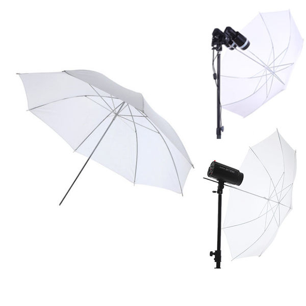黑熊館 神牛 GODOX 33吋 84cm 柔光傘 透射傘 反射傘 無影罩 持續燈 閃燈 攝影棚 棚拍人像 外拍