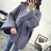 梨卡 - 四色可選秋冬加厚寬鬆無扣好搭保暖針織衫長袖針織外套B564