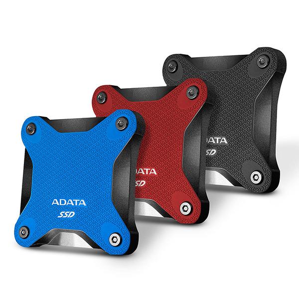 ADATA威剛 SD600Q 480GB(黑/紅) USB3.2 外接式SSD行動硬碟