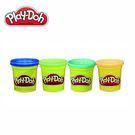 Play-Doh培樂多-黏土補充罐四色組...