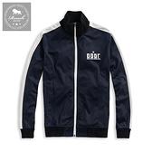 【Roush】 復古接布設計立領運動外套 -【915618】